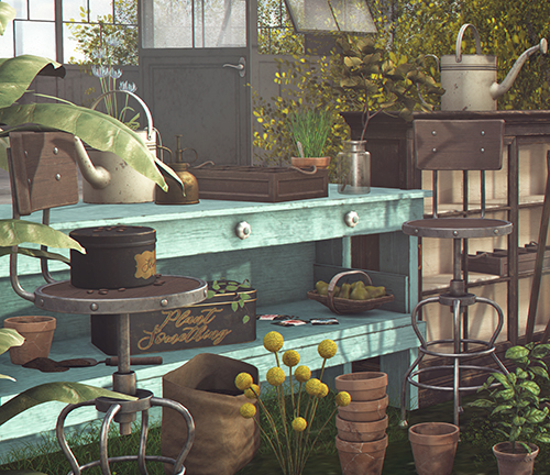 gardening refuge CLOSE