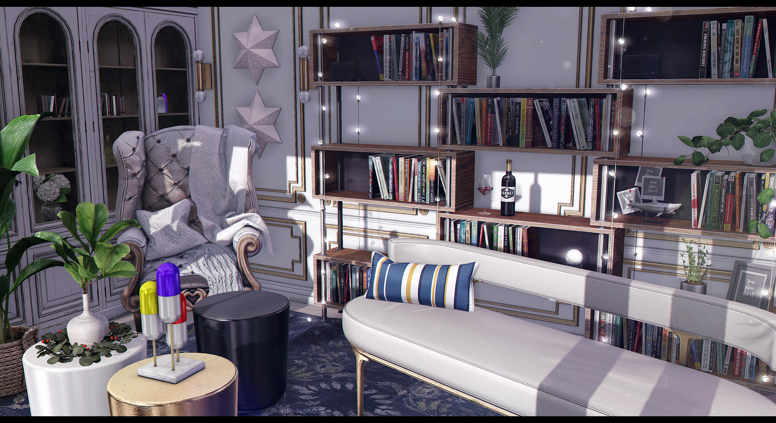 It's a living room - Kurimu Kuma